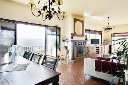 Stunning villa with unique views - Algatocín - Vila
