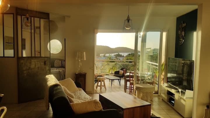 Magnifique appartement cosy, plage à pied