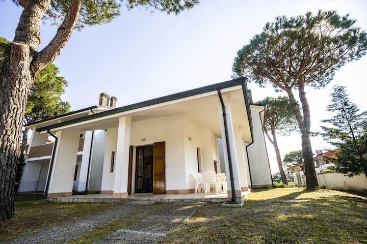 Casa de vacaciones con encanto en Lido di Volano cerca del mar