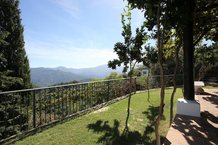 Stunning villa with unique views