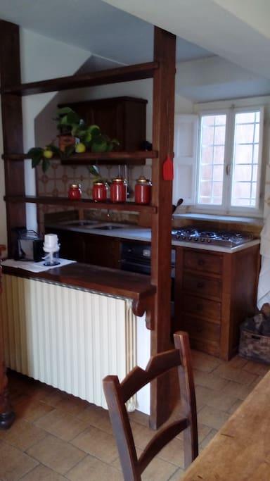Cucina/piano cottura
