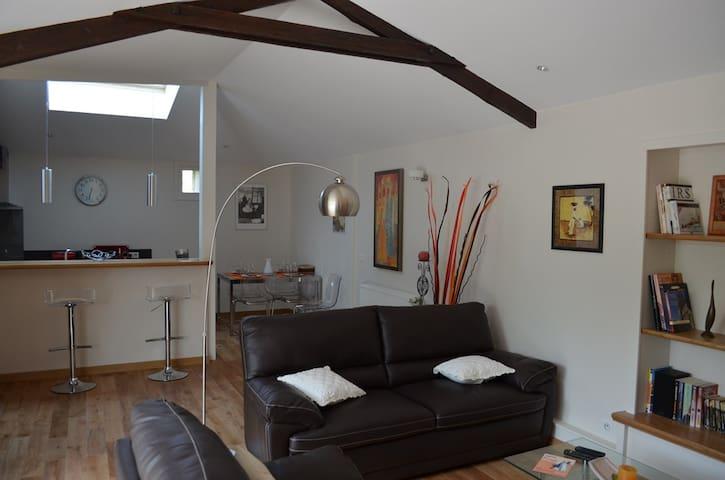 Gite 4* aux portes d'Angoulême - Balzac - House