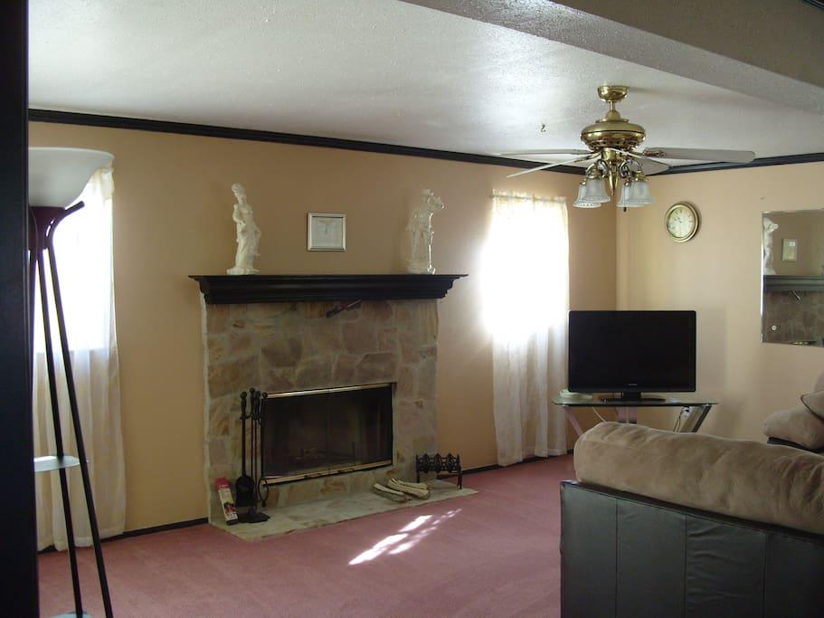 gem tliches haus mit offenem kamin h user zur miete in north port florida vereinigte staaten. Black Bedroom Furniture Sets. Home Design Ideas