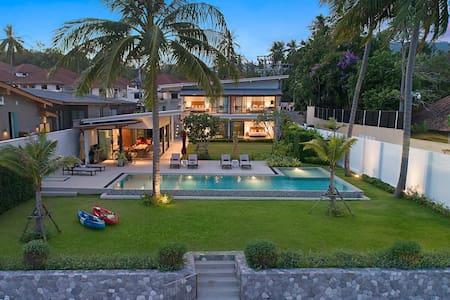 Beachfront Paradise - Villa SeaNest on Koh Samui
