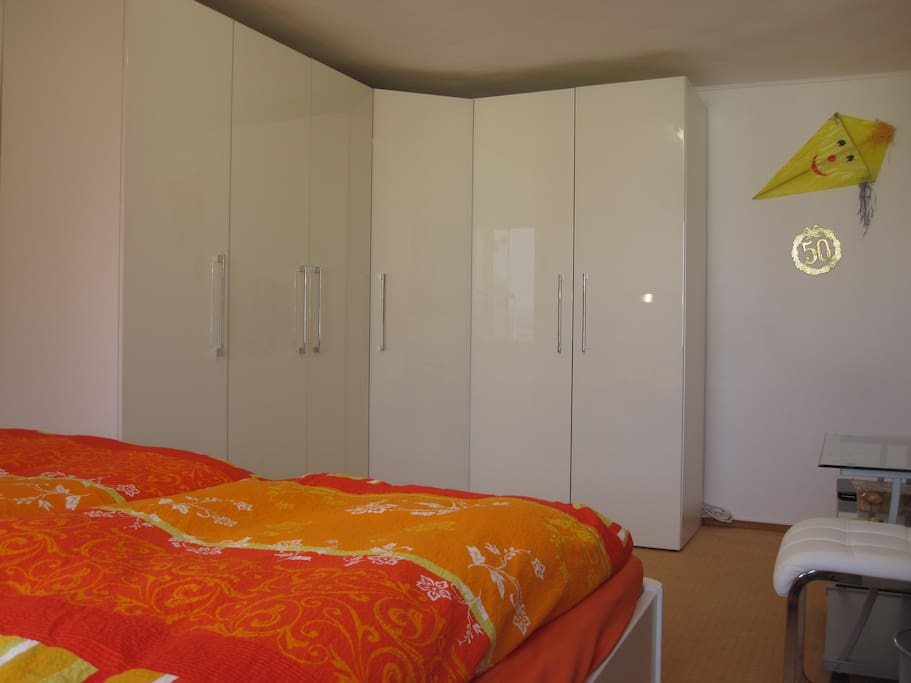 Room Niki, Super-king-size double bed (183 x 200), 2 persons, first floor