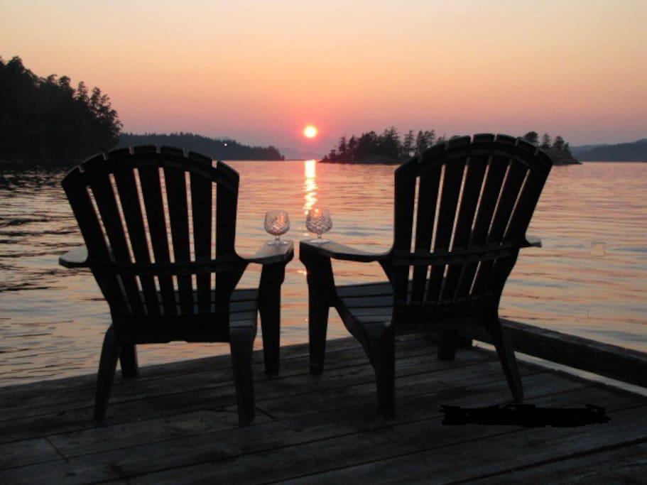 Amazing sunsets! Amazing memories!