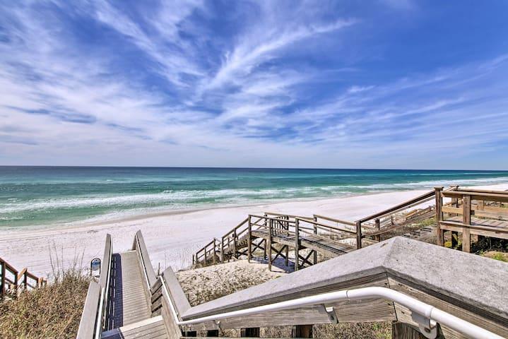 Gulf Coast Cottage w/Patio -Walk to Seagrove Beach