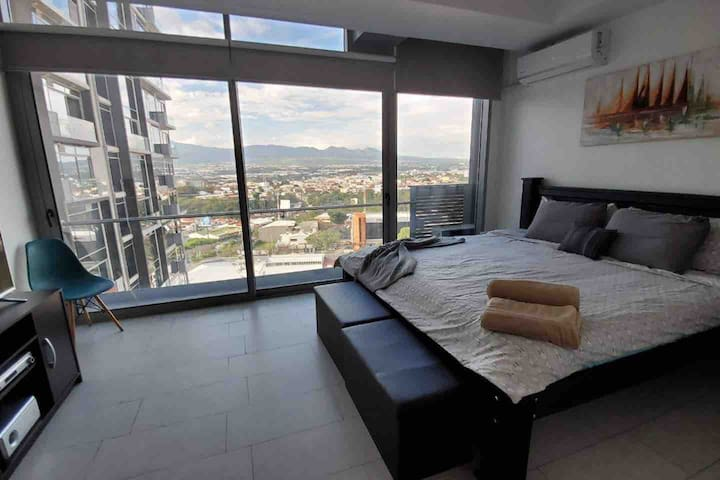 Equipped full apartment in luxury best zone condo