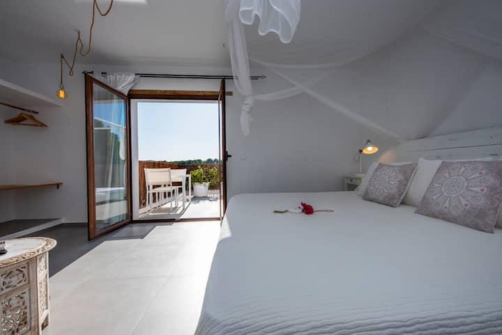Suite-terrace room, Agua Dolça