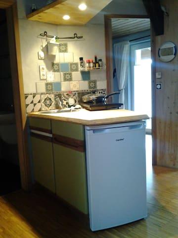 Atelierwohnung, viel Platz zur alleinigen Nutzung