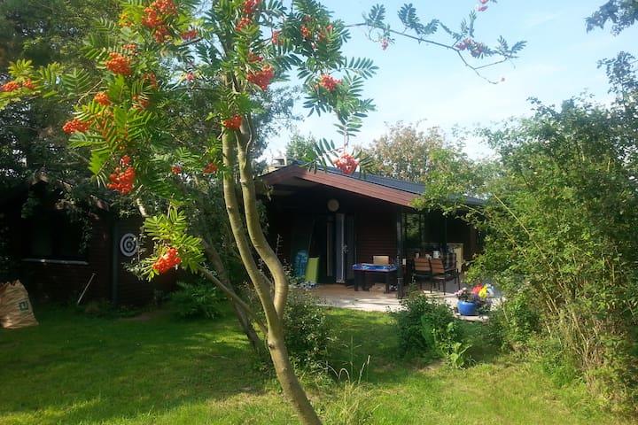 Summer Cottage with lush atmosphere and nice views - Karrebæksminde - Kabin