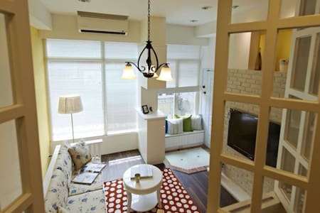 101 side country style(2BR/2BED) - 台北市 - Apartment