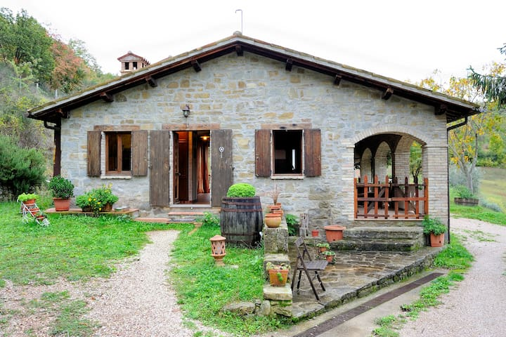 Regenereted in Umbrian Countryside3 - Gubbio - Haus