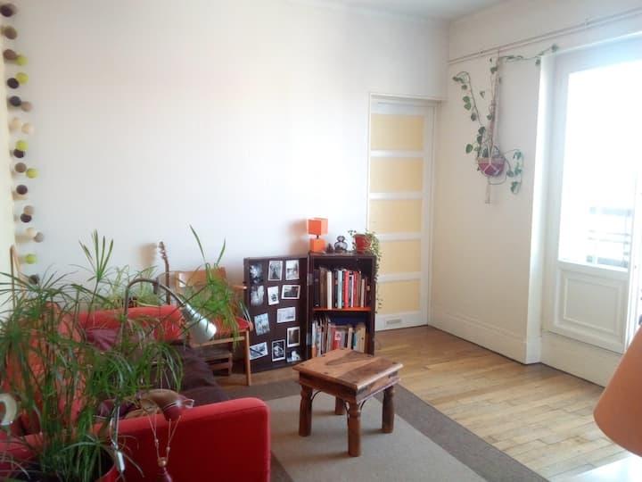 Appartement calme, proche centre, gare, SciencesPo