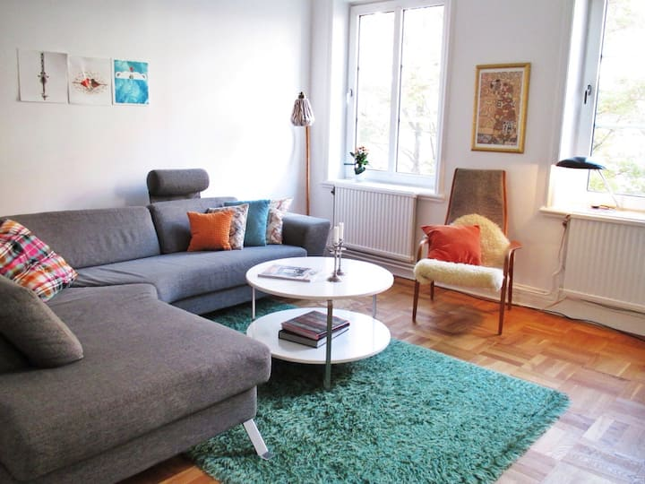 A spacious 4-room in central Malmö