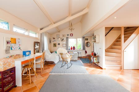 cosy holiday home near the sea  - Egmond aan den Hoef - Cabane