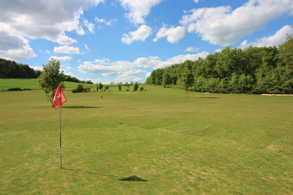 Free access to private 9 hole pitch and putt course
