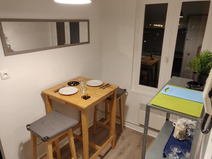 Appartement meublé, proche CNPE BUGEY - Ambérieu