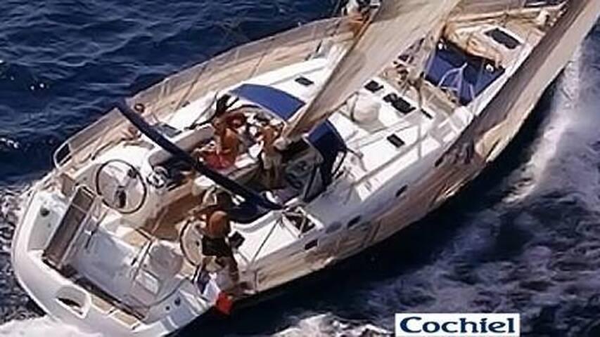 Cochiel welcomes you aboard - Procida - Bateau