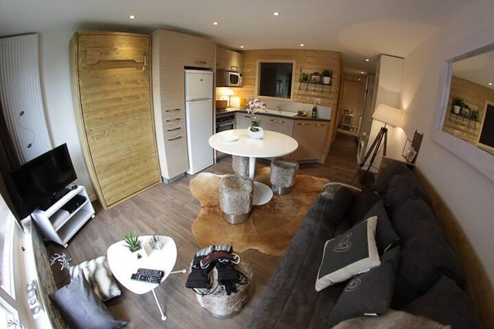 Great located cosy flat Courchevel - Saint-Bon-Tarentaise - Wohnung