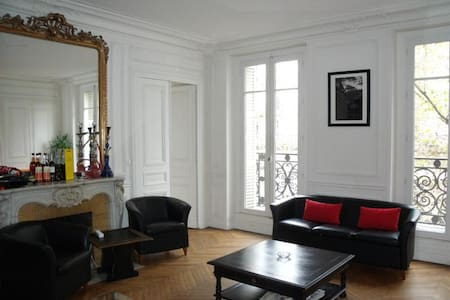 Grand appartement au coeur de Paris