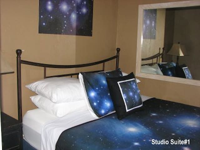 Studio Suite in Historic Boutique Inn