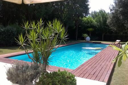 Cozy room in Villa with pool, Mondello beach - Palermo
