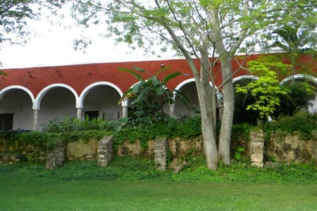 Your Own 17th C. Hacienda Updated: Estate for 14 - Abala - 别墅