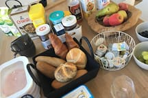 """Breakfast in """"Limburg style"""" in the white house"""