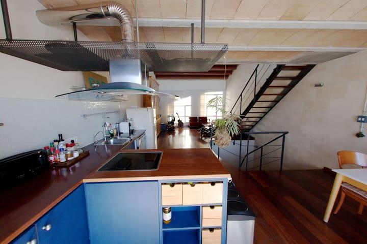 Antigua Fabrica restaurada pleno centro de Mahon