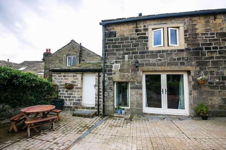 The Barn at Whitehall Fold Two Bed Cottage - Heptonstall - Casa