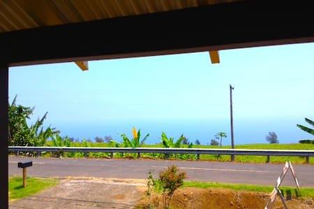 OCEAN VIEW!  EXPLORE THE WAIPIO VALLEY - Honokaa