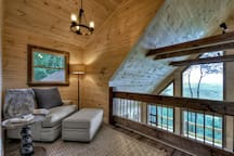 Upper Level Reading Loft!