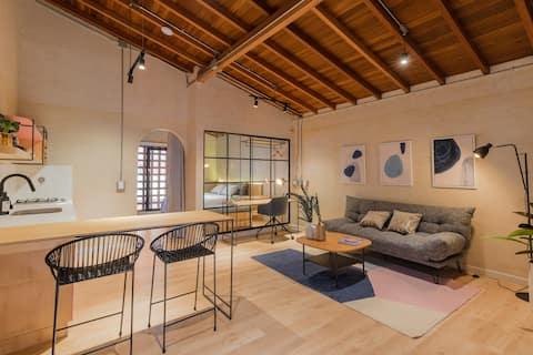 Designer loft located in Laureles