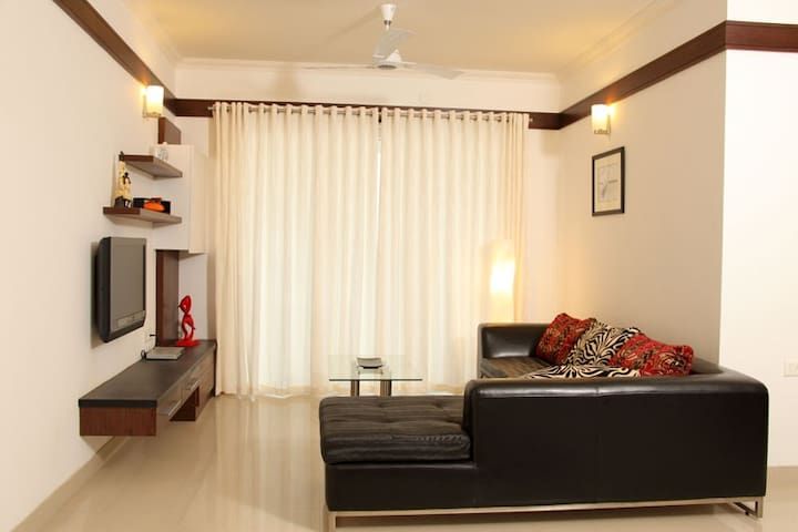 Comfy 3BD apt—a view you'll  love - Kochi - Appartement