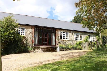 Milking Parlour, on The Garlic Farm - Isle of Wight - Casa