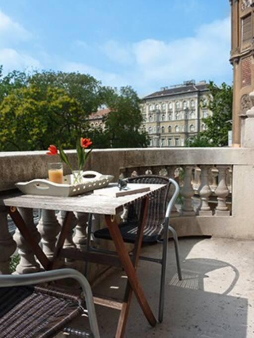 Apartment 1 Balcony