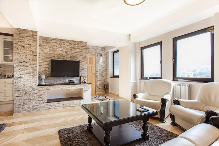 White apartment / Great apartment in Skopje centar