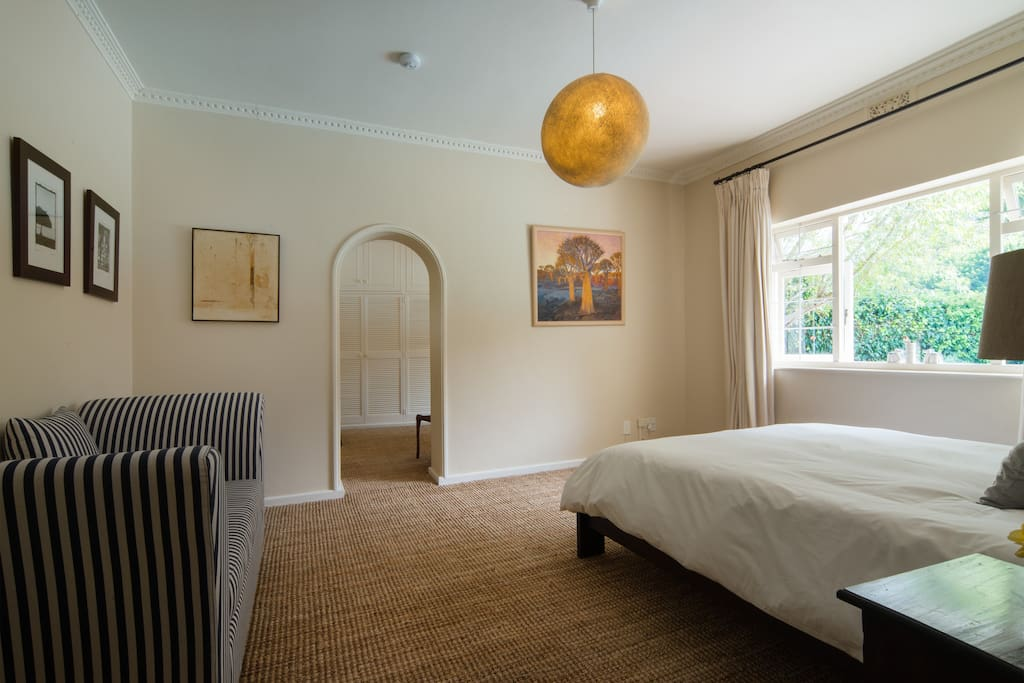 Main Bedroom with doorway through to bathroom on suite and cloak room