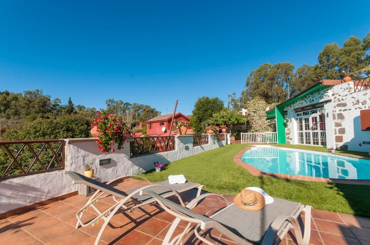 Holiday Cottage with pool (GC0024) - Firgas - Flat