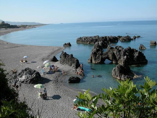 bilocale a 100m dal mare a Scalea - Scalea - Leilighet