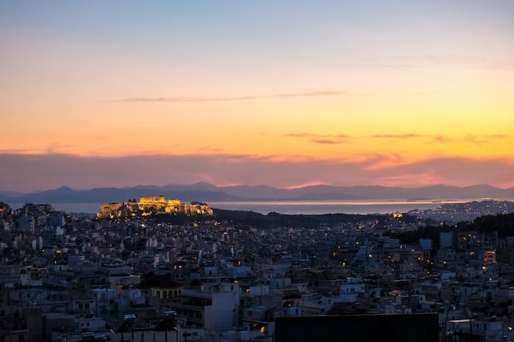 Athens panorama flat, private room - Atenas - Apartamento