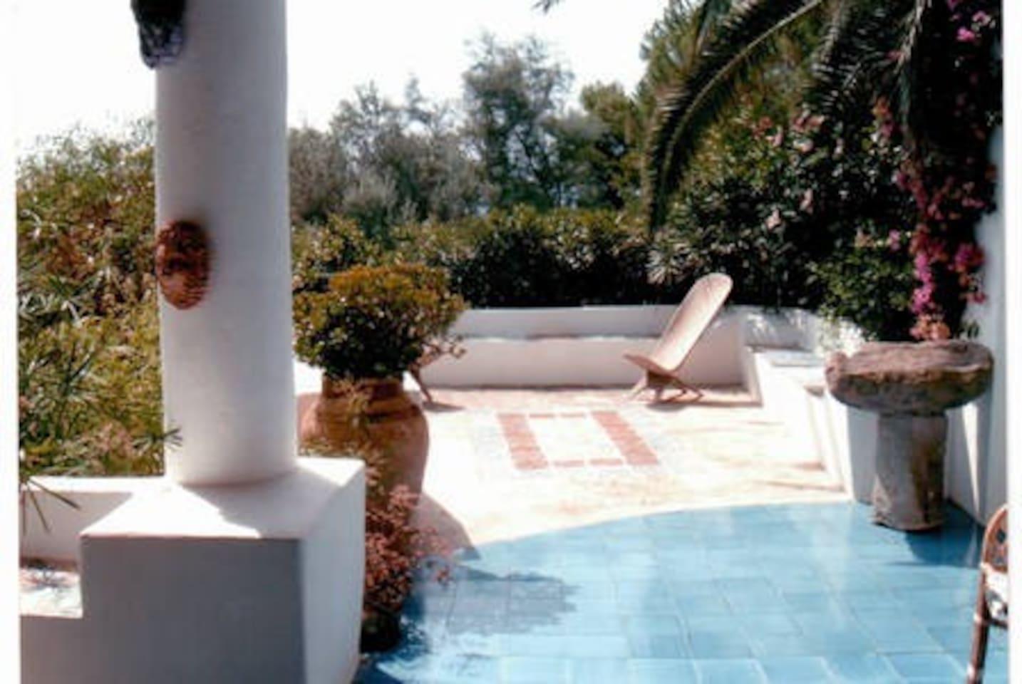 external patio