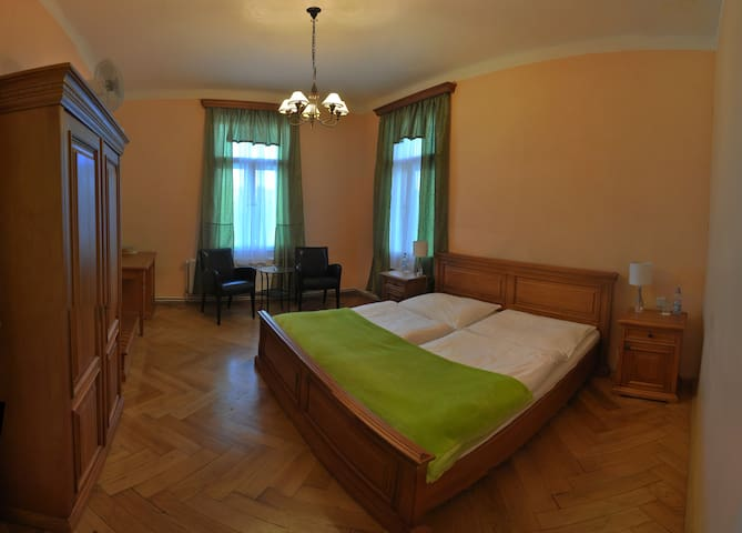 Hotel room near St.Barbara cathedral