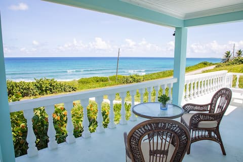 Island Time, Eleuthera: Ocean-front beach house