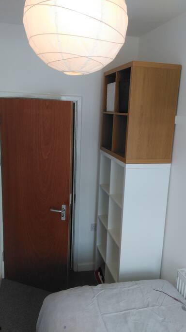 Bedroom - the storage unit