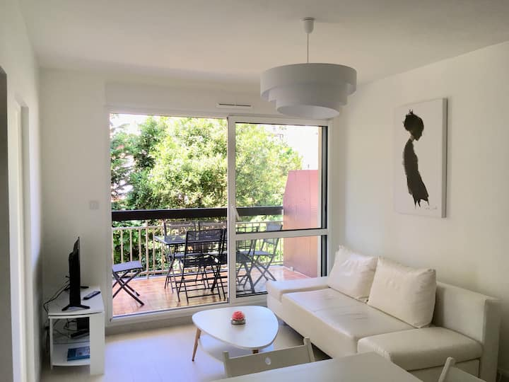 Nice new flat 100m from the beach - Fully equipped