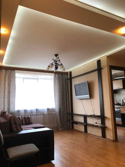 Трехкомнатная квартира в центре Вязьмы посуточно!