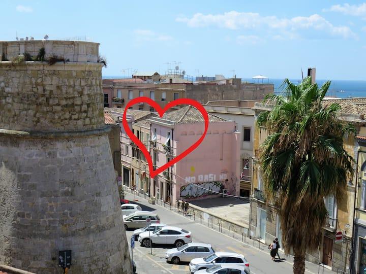"""Deliziosa """"Panoramica nel cuore della città"""""""