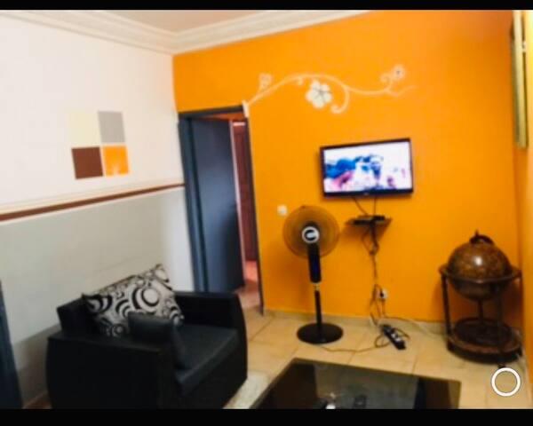 Superbe 2 pièces meublée-Abidjan-Marcory remblais